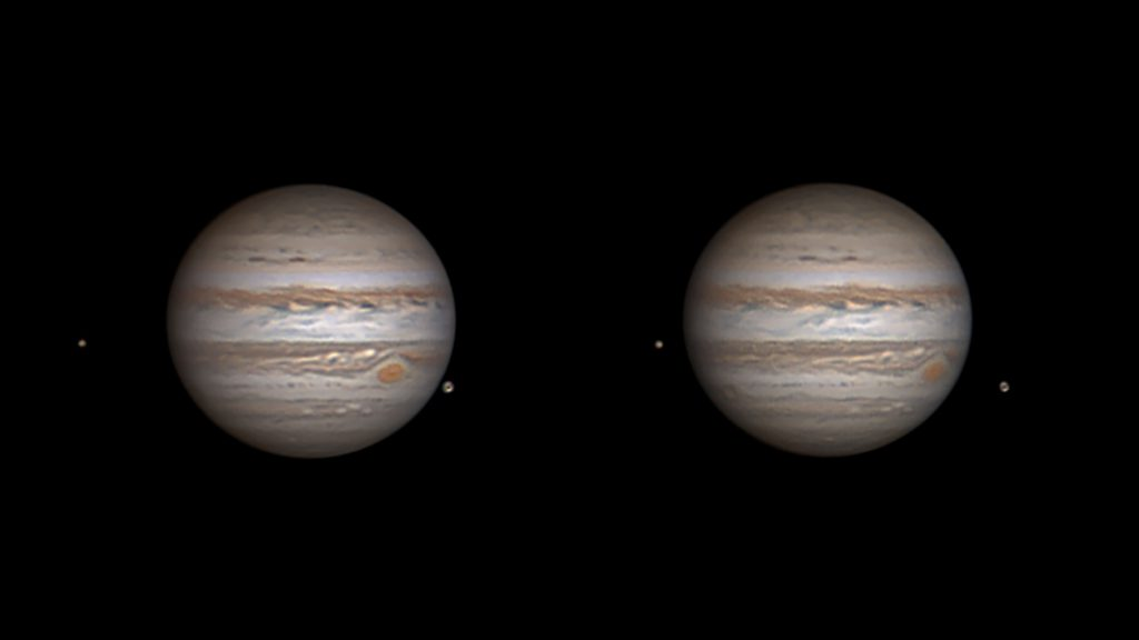 Jupiter, Thirty Minutes