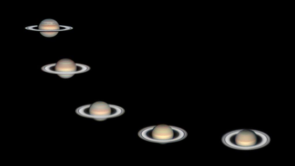 Saturn, Five Years