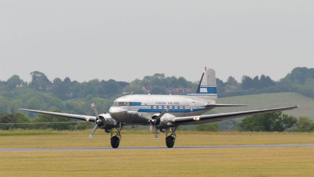 DC-3A OH-LCH from Finland