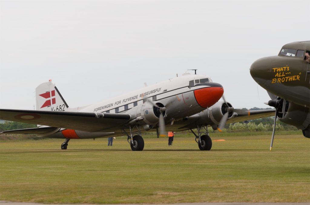 """DC-3 OY-BPB """"Gamle Dame"""""""