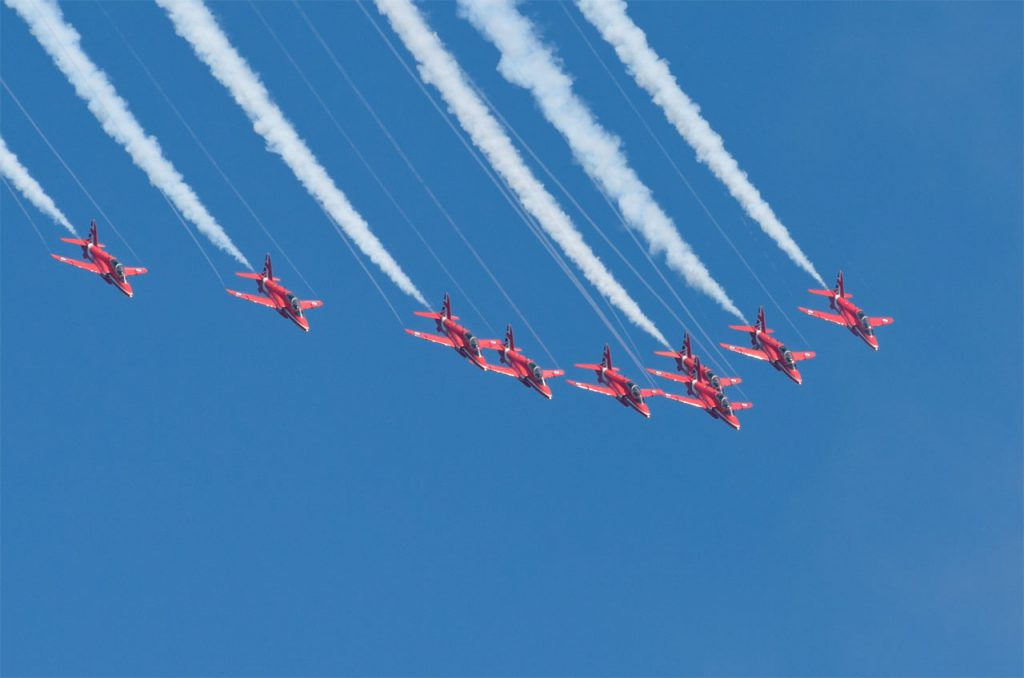 Red Arrows Big Battle