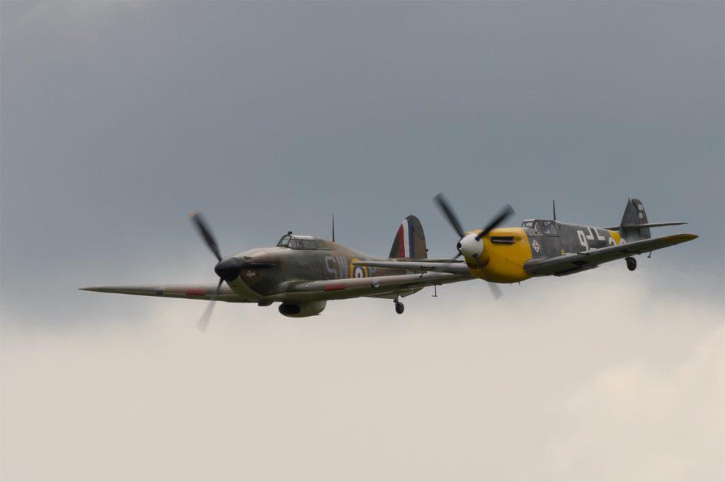 Bf109 and Hurricane
