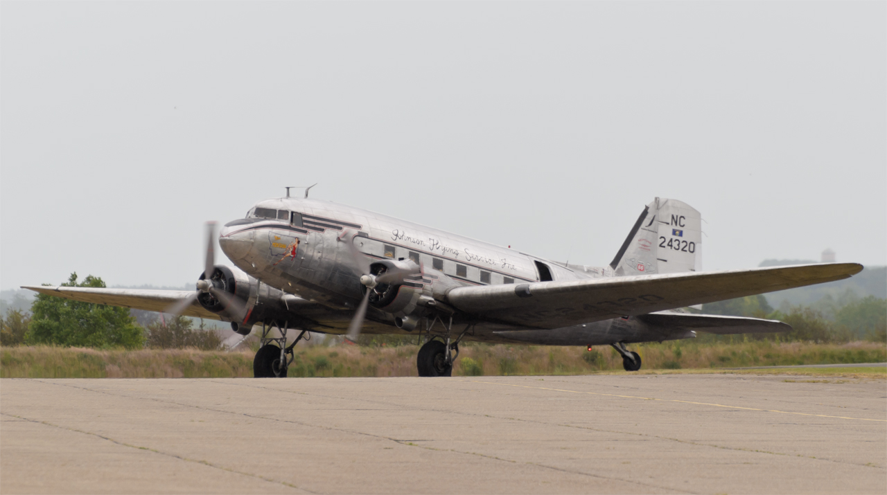 "Daks over Normandy - DC-3 N24320 ""Miss Montana"""