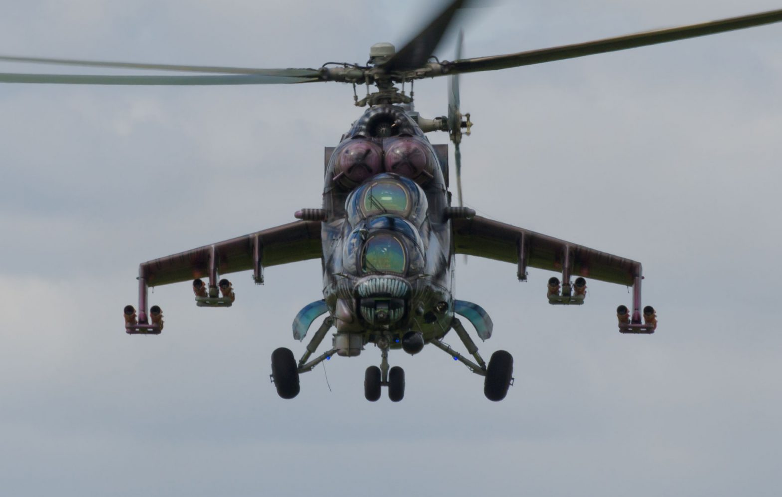 Biggin Hill Festival of Flight 2017 - Mil Mi-24