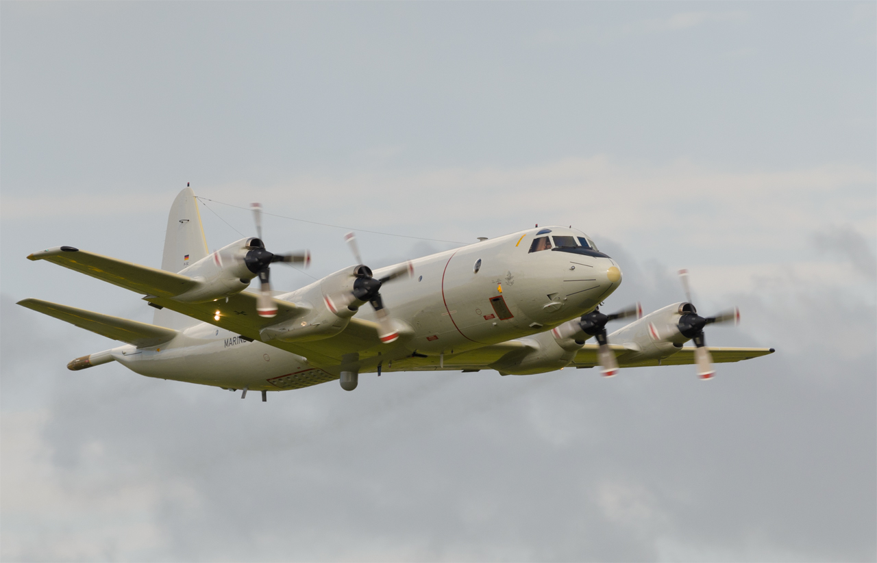 Cosford airshow - German Navy P-3 Orion