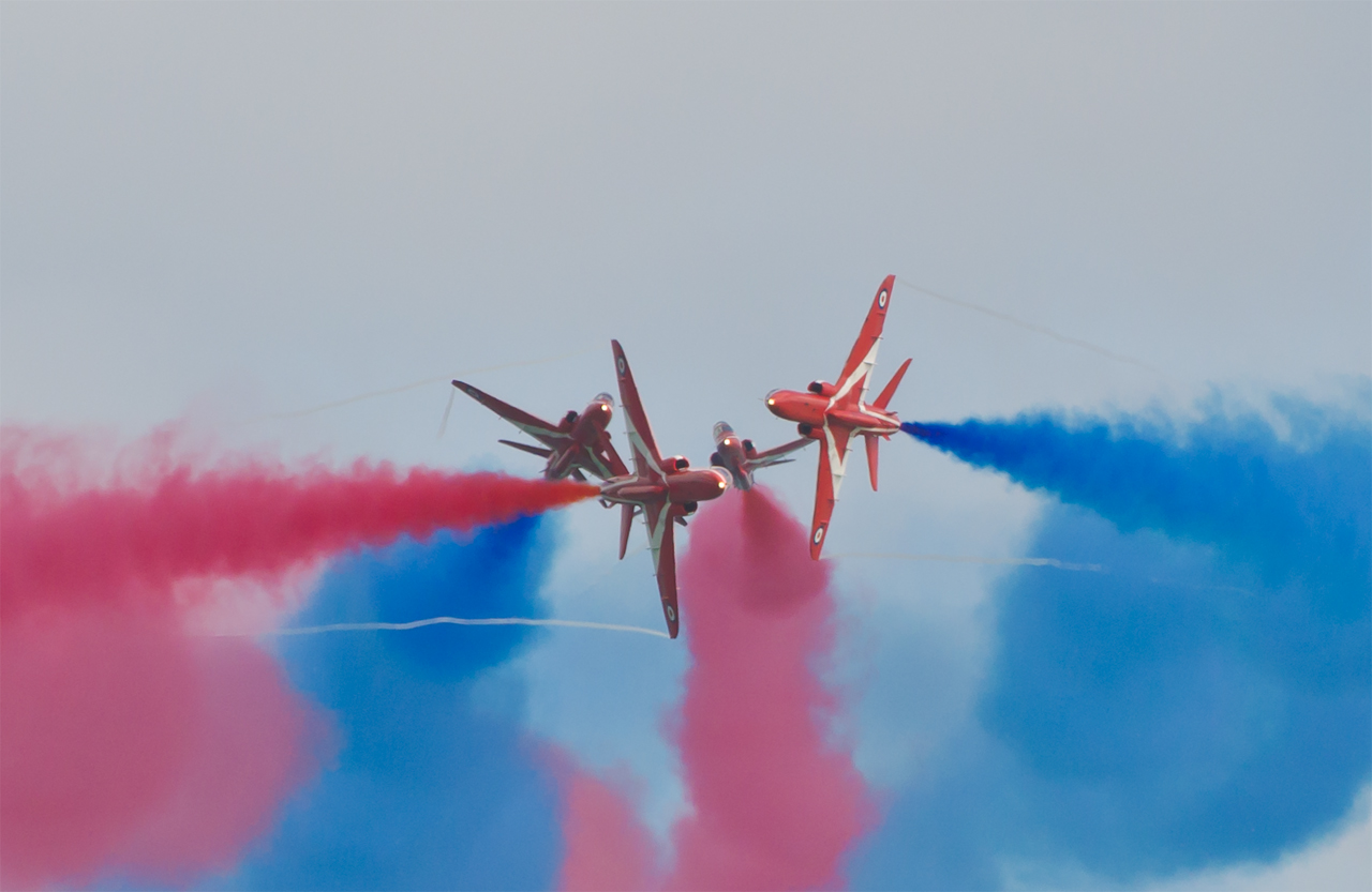 Eastbourne Airbourne 2017 - Red Arrows