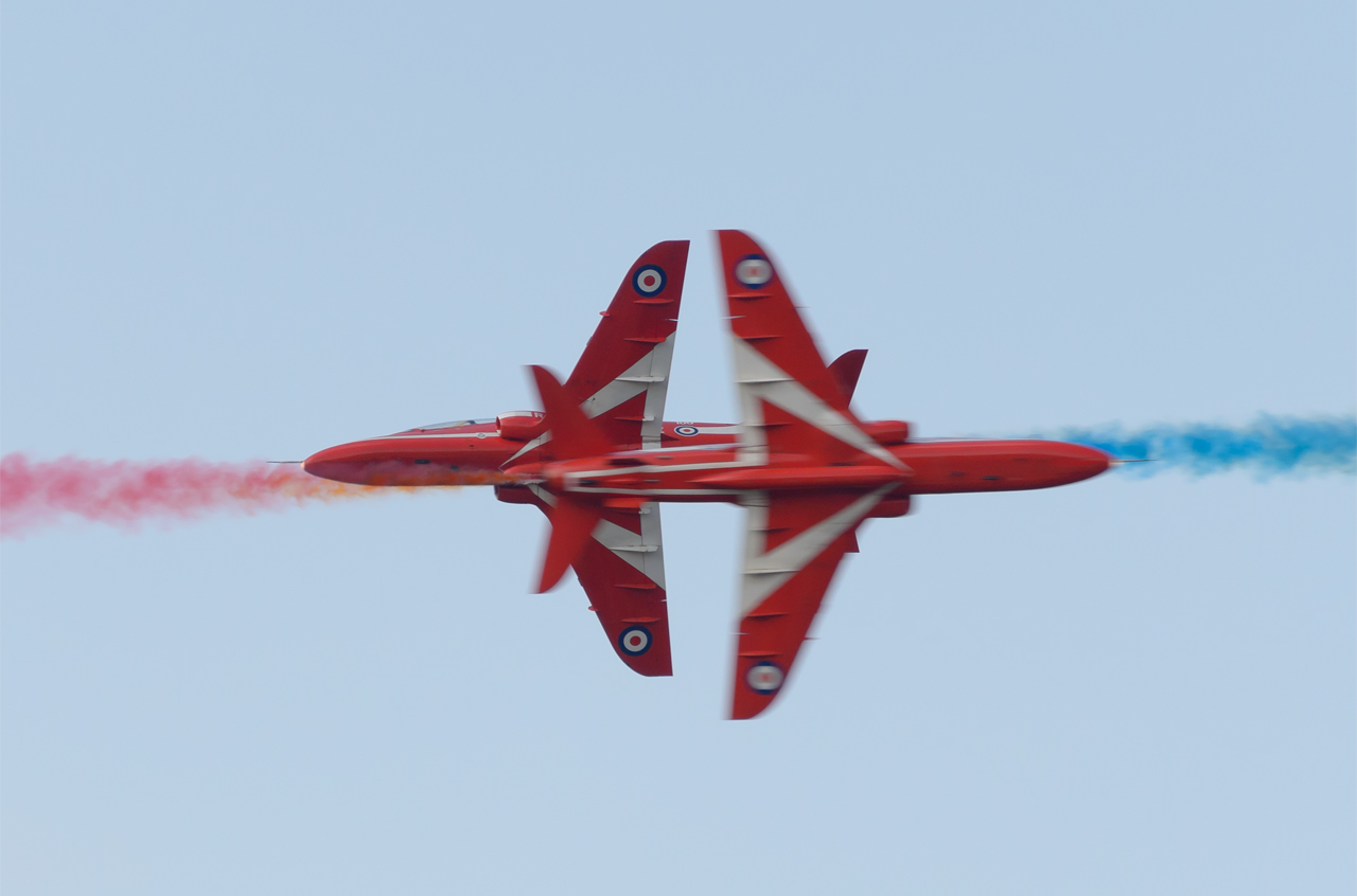 Uk airshows - Red Arrows