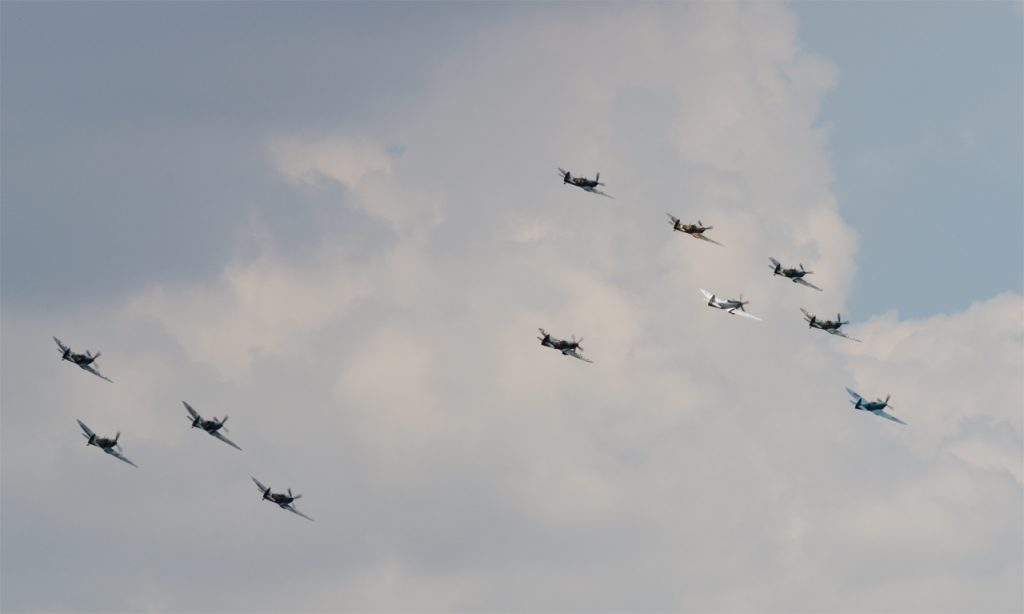 Spitfire-formation