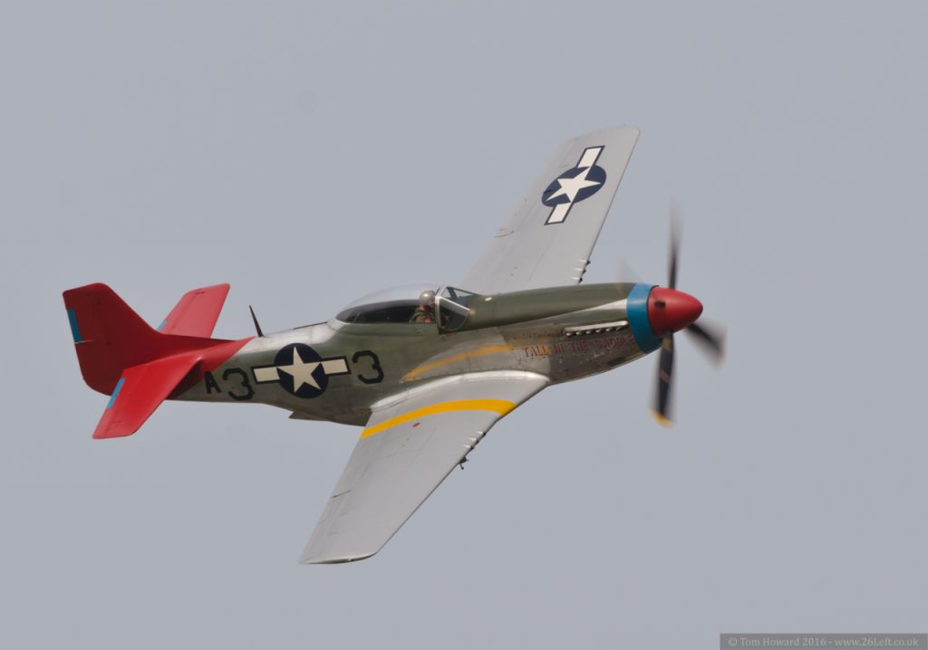 "P-51D Mustang – ""Tall in the Saddle"""