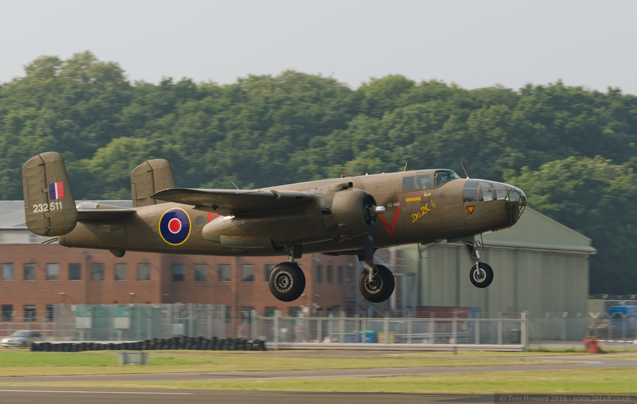 Dunsfold Airshow - B-25 Mitchell