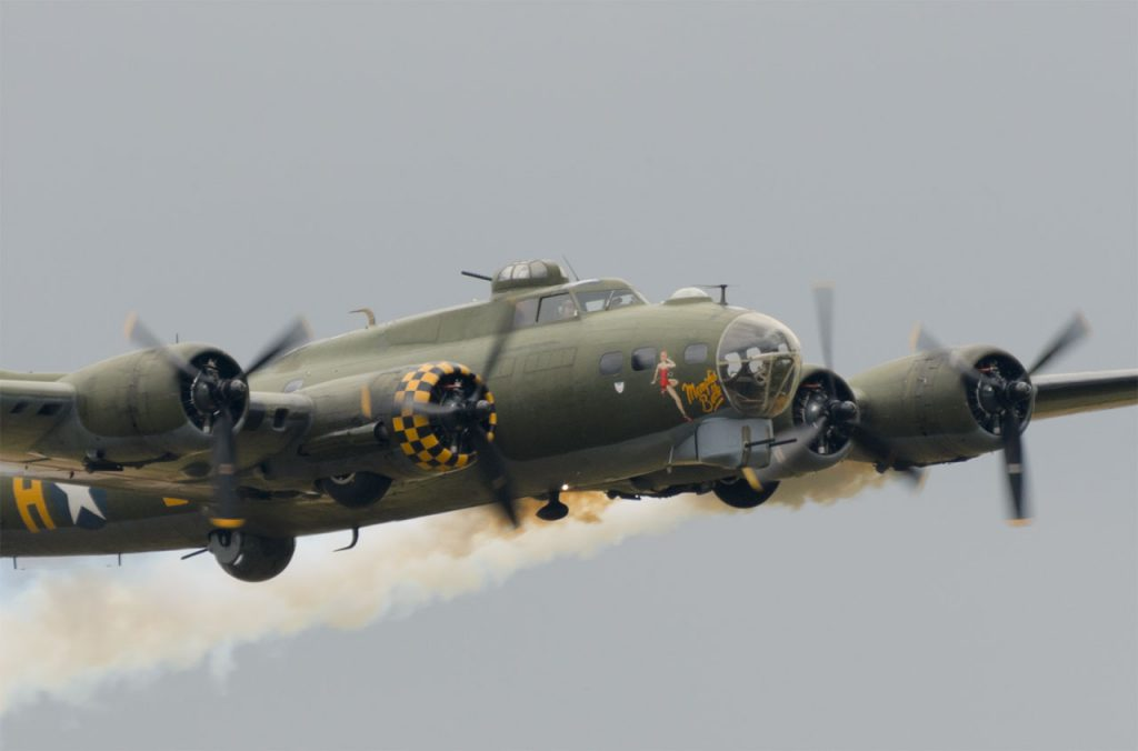 "Flying Legends 2019 - ""Sally B"""