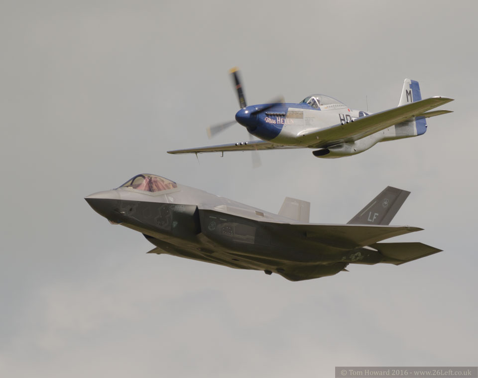 F-35 and Mustang