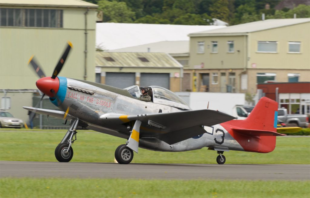 """P-51D Mustang """"Tall in the Saddle"""""""