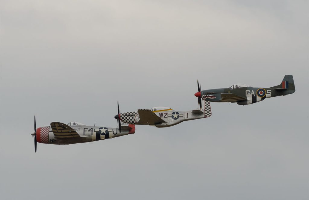 Mustangs and Thundebolt