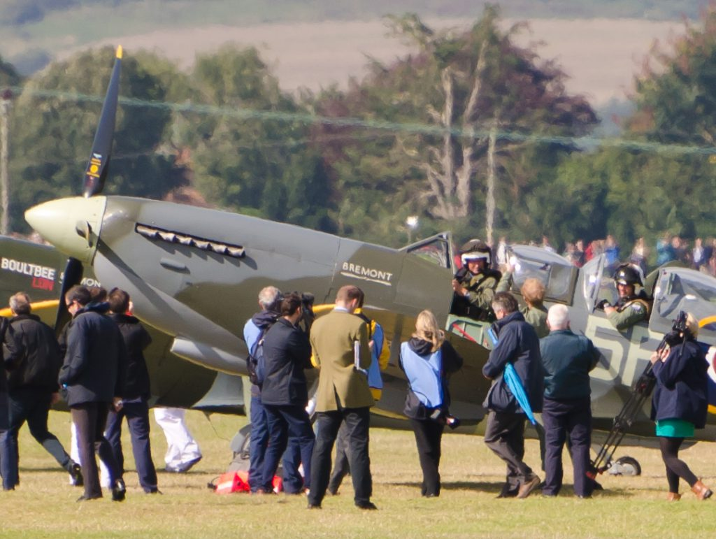 Battle of Britain flypast – Prince Harry