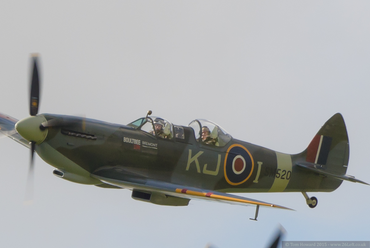 Battle of Britain flypast - Goodwood