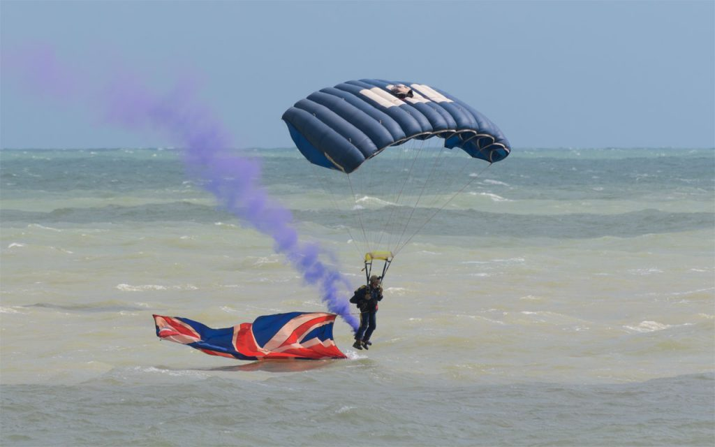 Tigers Parachute Display Team
