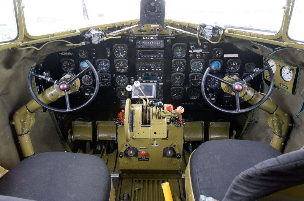 DC-3 cockpit