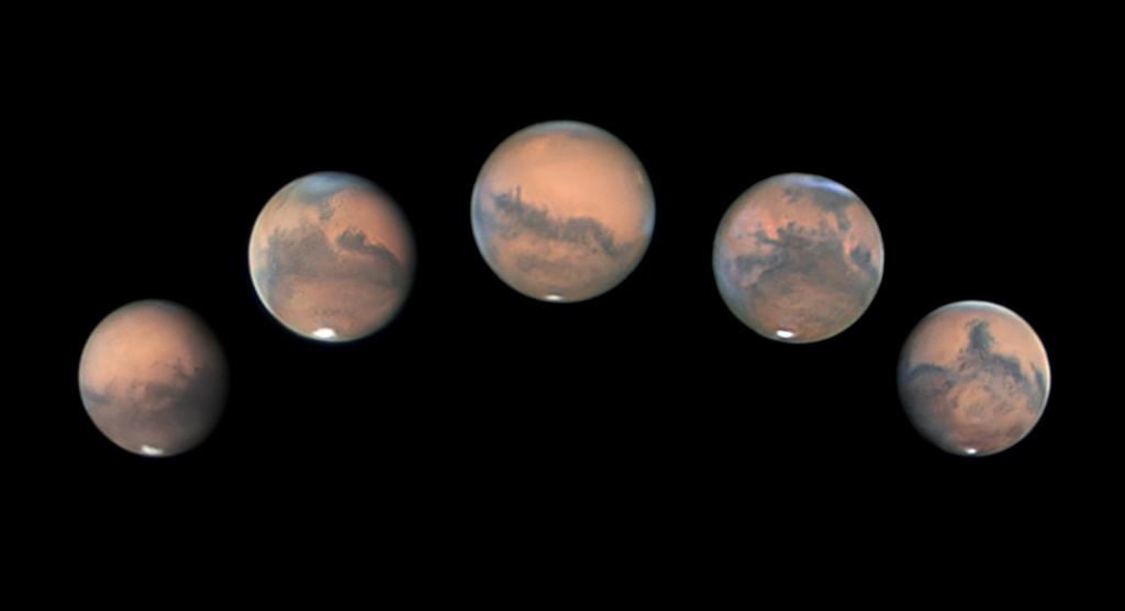 Mars apparition, 2020